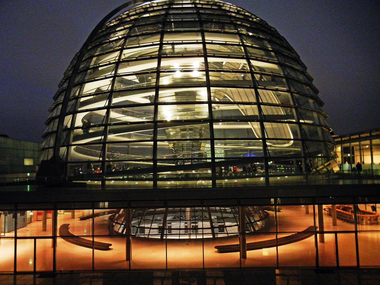 Reichstag Glasdach besichtigen